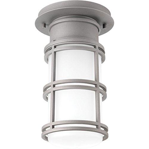 Progress Lighting P6536-13630K9 1-9W LED One-Light Hanging Lantern, Textured Graphite
