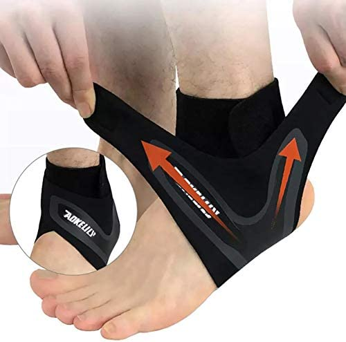 Aokelily Ankle Support Brace Adjustable Ankle Brace with Breathable Elastic Nylon Material Comfortable product image