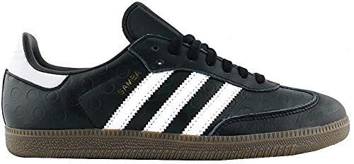 adidas Damen Samba Gymnastikschuhe, Schwarz (Core Black/FTWR White/gum5), 42 2/3 EU