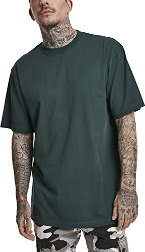 Urban Classics Herren Tall Tee T-Shirt, bottlegreen, 4XL