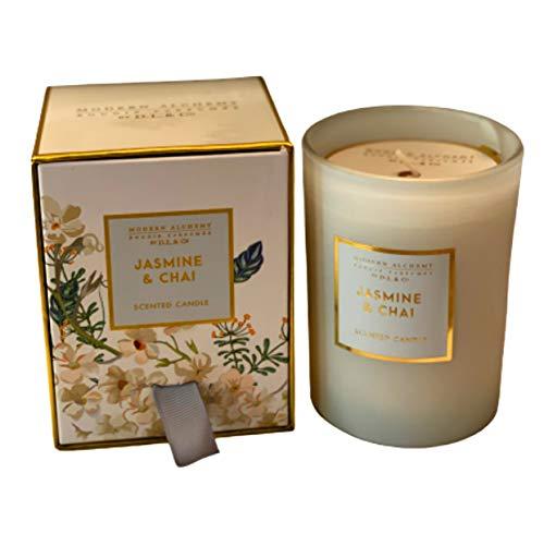 Modern Alchemy DL Co Jasmine Chai Scented Candle 8.7 Oz