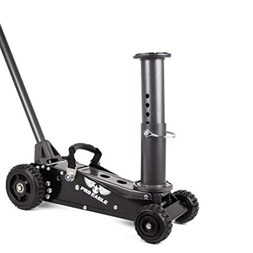 COOKE Pro Eagle 1.5 Ton Talon Big Wheel Hydraulic Off Road Jack, for Lifted, 4WD, and Extreme Vehicles