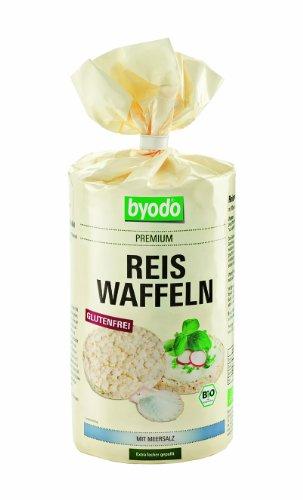 Byodo Bio Reiswaffeln mit Meersalz (6 x 100 gr)