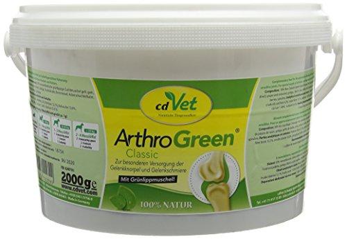 CD VET - Arthrogreen Suppléments Vétérinaires Naturprod. GMBH - 2000 g