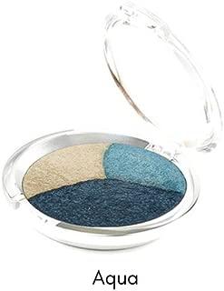 Ageless Derma Mineral Makeup Baked Eyeshadow trio (Aqua)-Vegan Eye Shadow