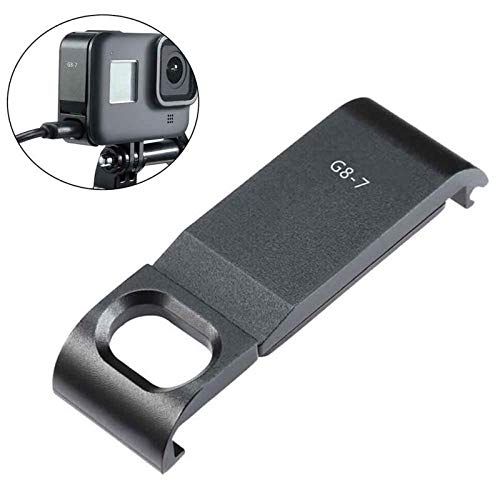 Action Camera Accessory Kit Huisvesting Beschermende Stofdicht Professional Accessoires Camera Type C Oplaadpoort Verwisselbare Batterij Cover For GoPro Hero Black 8