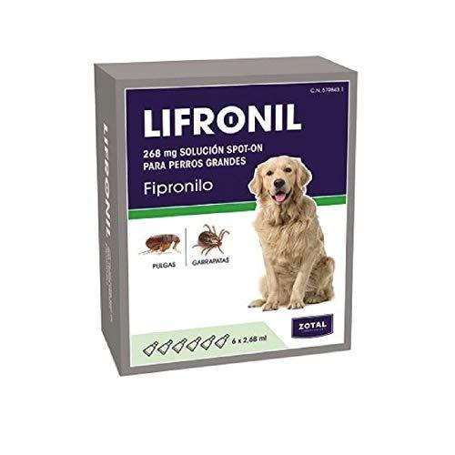 Zotal LIFRONIL FIPRONILO Perros Grandes 6 PIPETAS