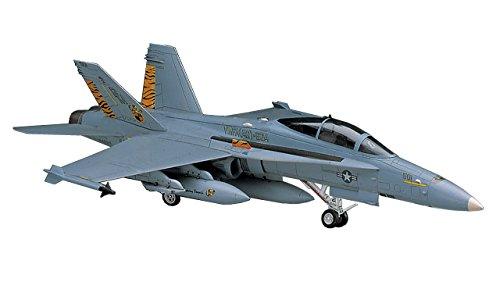 ハセガワ 1/72 アメリカ海軍 F/A-18D ホーネット プラモデル D9