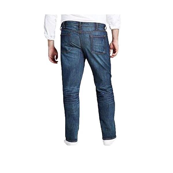 Men's Big & Tall Straight Fit Jeans - Dark Denim Wash - 5