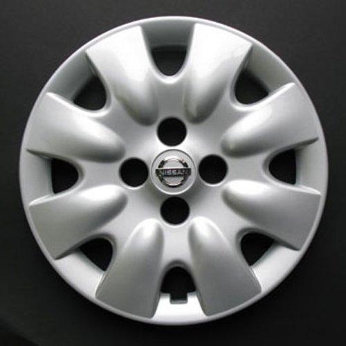 Wheeltrims Set de 4 embellecedores nuevos para Nissan Micra 2002 / Note/Almera 2000-2006 / Primera 2000-2008 con Llantas Originales de 14''