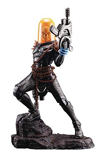 Kotobukiya Marvel Ghost Rider Artfx Premier Statue, Multicolor