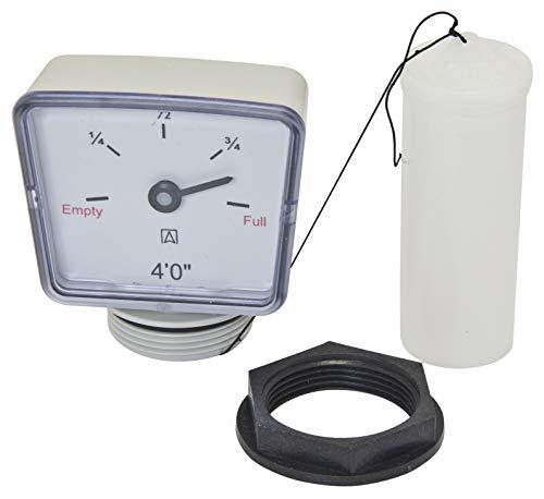 Medidor de flotación para depósitos de combustible/aceite/agua. 4 pies (1,2 m)