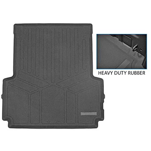 SMARTLINER K0459 Rugged Rubber Truck Bed Mat Liner for 2020-2021 Jeep Gladiator