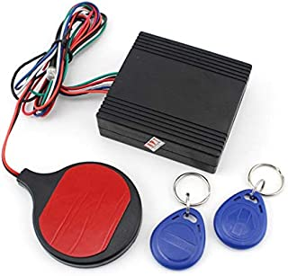 VistorHies - Motorcycle Alarm Alert Induction Invisible Alarm System Smart ID Card Sensor Anti-theft Device Theft Protection