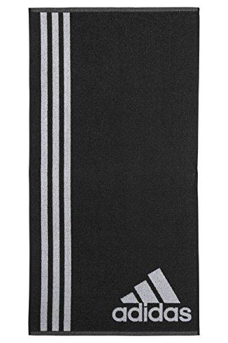 adidas Handtuch Groß, Black/White, One Size
