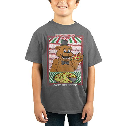 Youth Five Nights at Freddys TShirt Boys Graphic Tee-Small