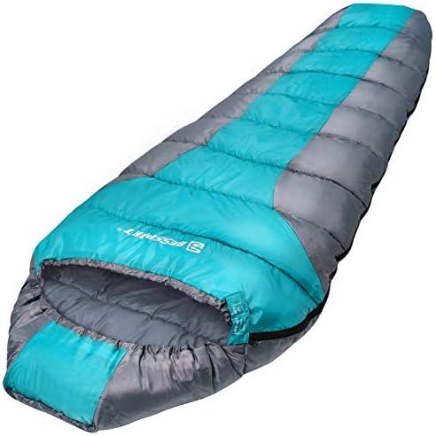 Bessport Lightweight Sleeping Bag 3 Season Mummy Sleeping Bags Water Repellent for Adults Teens product image