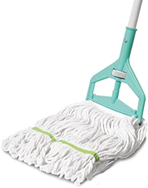 Spotzero By Milton Roll and Fit lopped Cotton Mop (Aqual Green) (EC-CPD-FLR-0006)