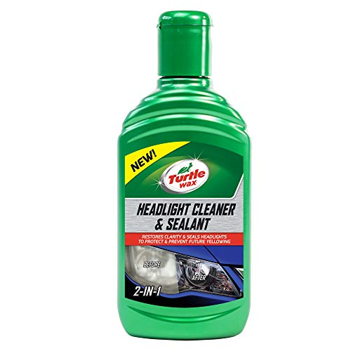 Turtle Wax 53146 Headlight Restorer Headlamp Cleaner Liquid 300ml