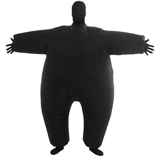 VOCOO Lnflatable Costumes Adult Size Inflatable Body Suits Pants (Black), 14x3x12