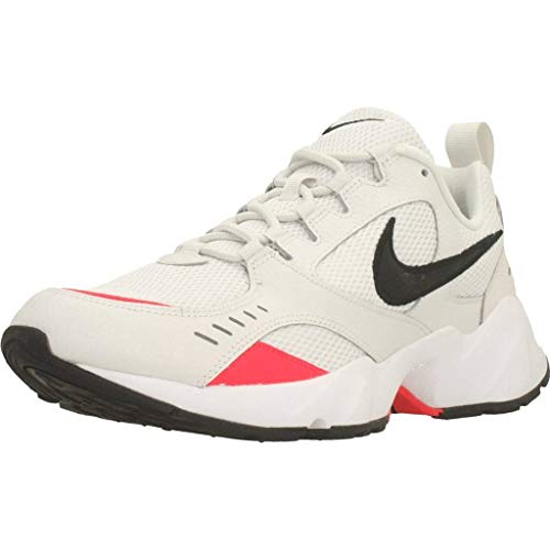 Nike Air Heights, Zapatillas de Trail Running para Hombre, Multicolor (Platinum Tint/Black/Red Orbit/White 1), 39 EU