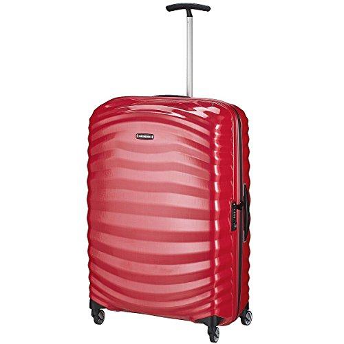 Samsonite - Lite-Shock- Spinner Maleta 75 cm, 94 L, Rojo