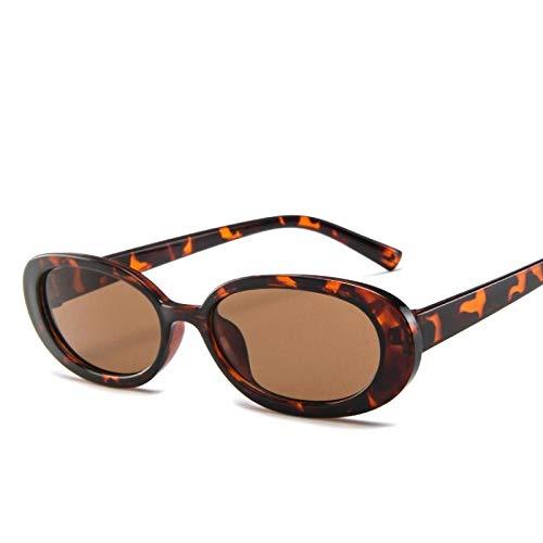 Gafas De Sol Polarizadas Gafas De Sol Ovaladas Pequeñas De Estilo para Mujer, Montura Redonda Retro Vintage, Gafas De Sol Blancas Negras para Hombre, Gafas Transparentes