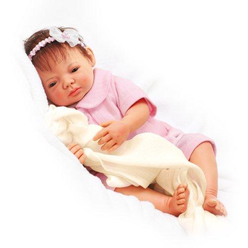 Schlaf, Selina, schlaf - Babypuppe der bekannten Puppenkünstlerin Gerlinde Feser