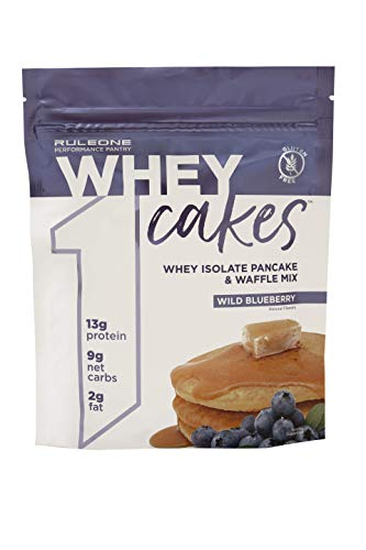 Rule One Proteins R1 Whey Cakes 12 Servings Wild Blueberry