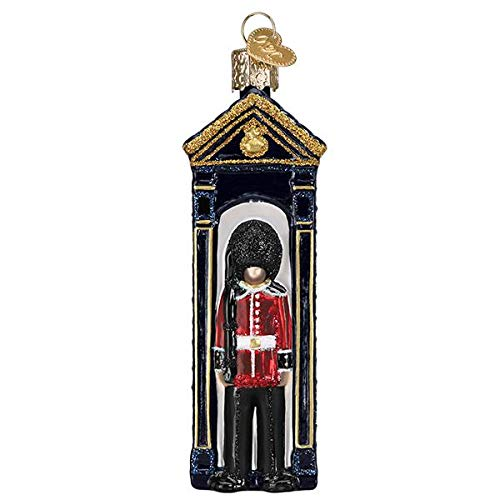Old-World Christmas Glass Blown Ornament with S-Hook and Gift Box, Profession Selection (Palace Guard, 24201)