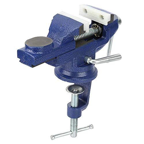 Zhenwo Schraubstock Mini Universal Legierung Tischschraubstock 360 Grad Rotation Haushaltsklammer Schraubstock Ausrüstung Für Tabelle Elektrische Bohrmaschine,A