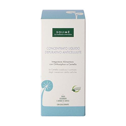 Concentrato Liquido Depurativo Anticellulite con Orthosiphon e Centella 500ml - Prodotto erboristico made in Italy