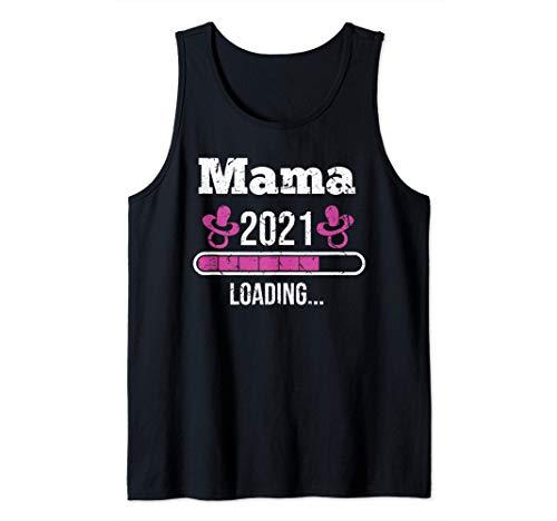 Mama 2021 | Ich bin schwanger | Schwangerschaft | Geschenk Tank Top