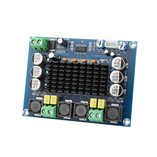 Clyxgs TPA3116D2 Dual Channel Class D Digital Power Audio Amplifier Board, DC12-26V High Power Stereo AMP Module for Car Vehicle Computer Speaker DIY Home Theater Audio System