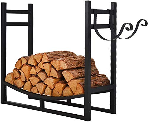 Check Out This Patio Watcher 3-Foot Firewood Rack Log Rack Indoor Outdoor Fire Wood Storage Log Hold...