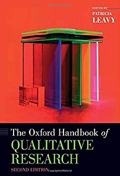 The Oxford Handbook of Qualitative Research  Oxford Handbooks
