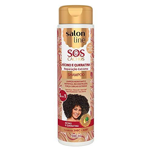 Shampoo Uso Diário 300ml SOS 5 em 1 Unit, Salon Line