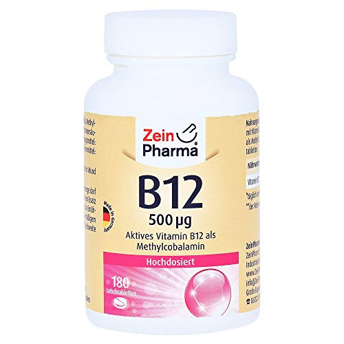 Vitamin B12 500 μg Lozenges 180 Pieces