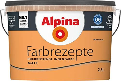 Alpina - Farbrezepte Marrakesch - 2,5 Liter