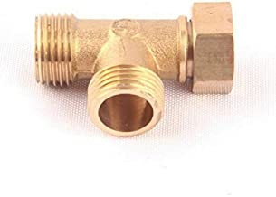 LAQI Adaptador Reductor de Montaje de tuber/ía Reductora Adaptador de man/ómetro 1//8 Pulgada NPT Macho a 1//4 Pulgada NPT Hembra