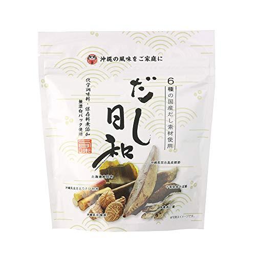 だし日和 5g×6包×4P 島酒家 沖縄県産と国産素材6種類で作ったこだわりのだしパック 保存料無添加 無漂白パック使用