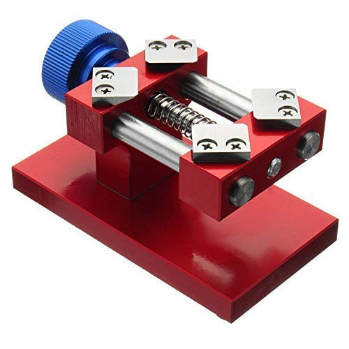ADSE Red Bezel Baffle Removal Tool Workbench Zurücköffnungswerkzeug, Watch Baffle Removal Repair Tool Uhrenreparaturset