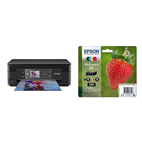 Epson Expression Home XP-452 Print/Scan/Copy Wi-Fi Printer, Black, Amazon Dash Replenishment Ready