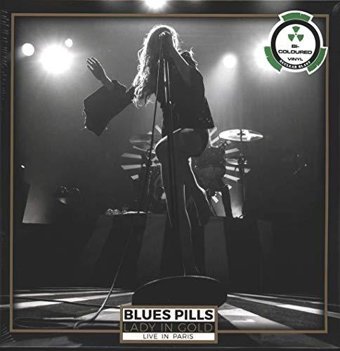 BLUES PILLS, Lady in gold - Live in Paris BI-COLOU - 2LP