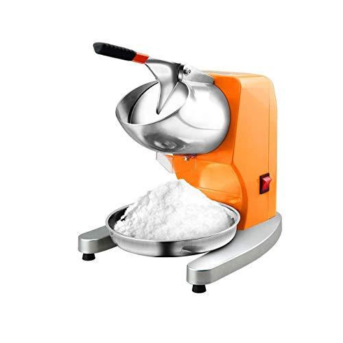 HIZLJJ Vintage controsoffitto Neve Cono Maker Rende 20 ghiacciato Ghiaccio Tratta Freestanding Commerciale Maker Machine in Acciaio Inox Elettrico Tritaghiaccio