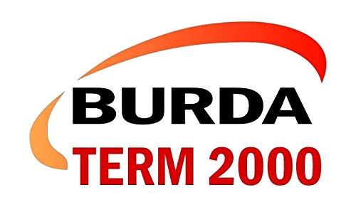Burda Infrarot Kurzwellen Heizstrahler Term 2000 IP65 Multi RCJ330, 3.300W – 240V, silber - 3