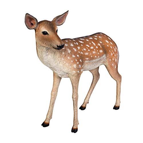 Design Toscano Spotted Deer Forest Fawn Sculpture