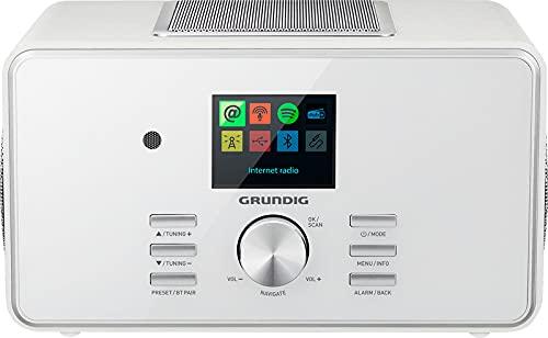 """Grundig GIR1080 DTR 6000 X All-In-One"""" Radio, White, Weiß"""