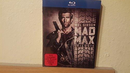 MAD MAX Trilogy - Uncut 1 2 3 MEL GIBSON * Erstauflage BLU-RAY BOX Schuber