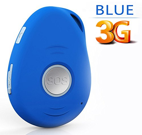NEW! 3G VisionOne GPS Tracker & Personal Alarm -SOS Alarm, 2-way Talk, Fall Detection, Spy Mode, Geo-fence, Speed Alert, Real-time GPS Tracking Device, Smartphone Apps, Kids, Elderly, Personal, Drones